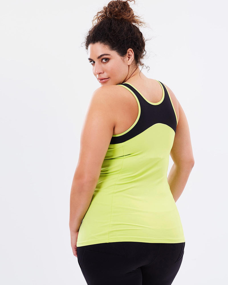 Workout Tank - Lime - Be Activewear