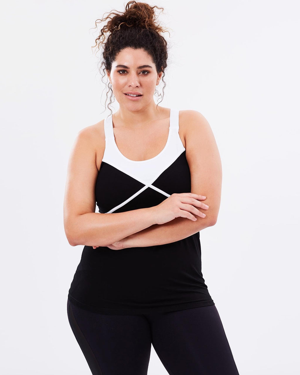Zenith Tank - Black - Be Activewear