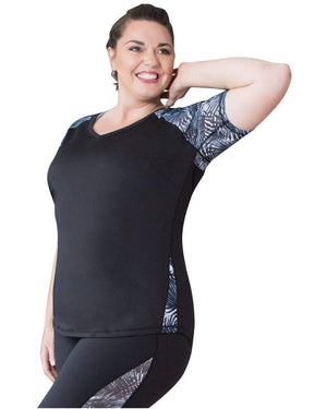 Curvy Chic Tops 14 Spirit Short Sleeve Top