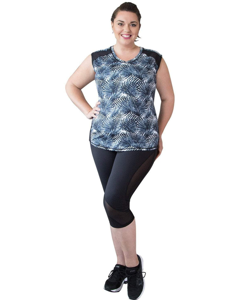 Curvy Chic Tops 14 Verve Sleeveless Top