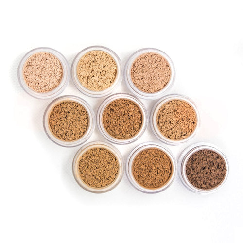 Fitcover Makeup Samples - Active Mineral Powder Foundation
