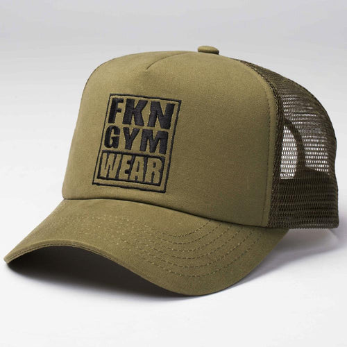 Fresh To Death 411 – Khaki Cap - Be Activewear