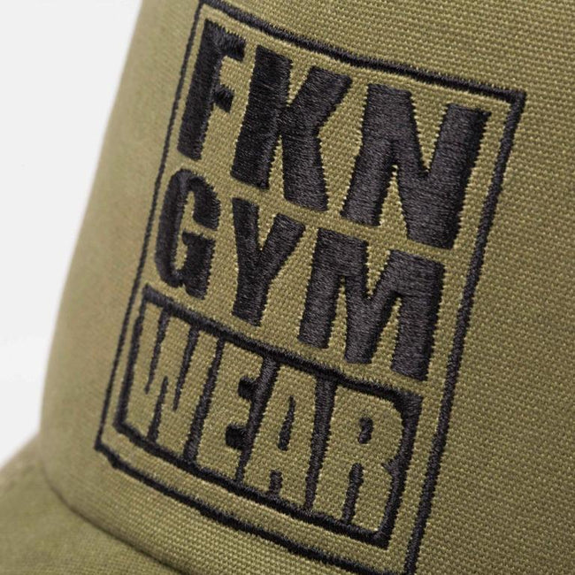 FKN caps Fresh To Death 411 – Khaki Cap