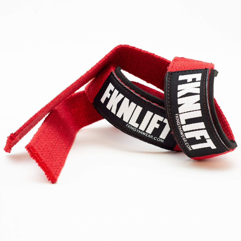 FKNLIFT Straps | Red - Be Activewear