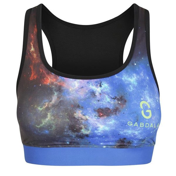 Gabdala Crop Tops Galaxy Crop