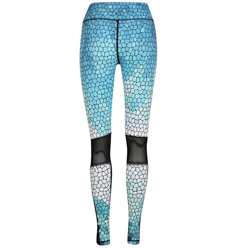 Mosaic Sky Compression legging - Be Activewear
