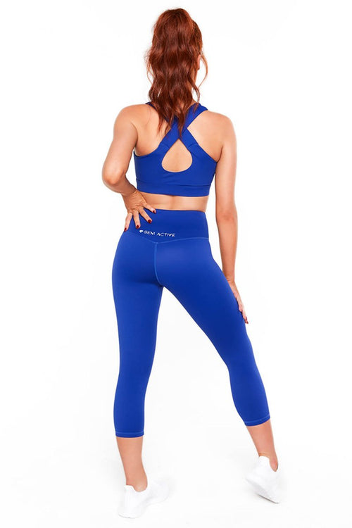 Classic Cross Back Crop - Be Activewear