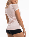 Signature Hawt Apparel Tee - Pink - Be Activewear