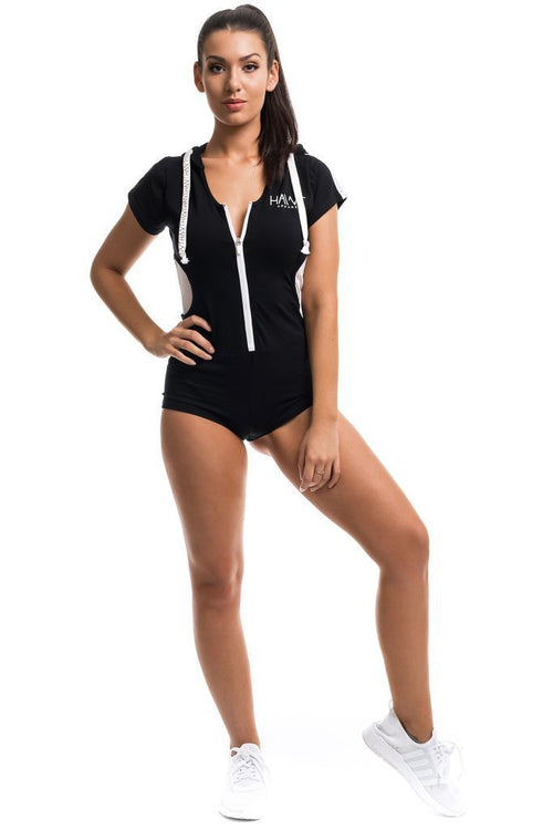 Feeling Hawt Jumpsuit - Black - Be Activewear