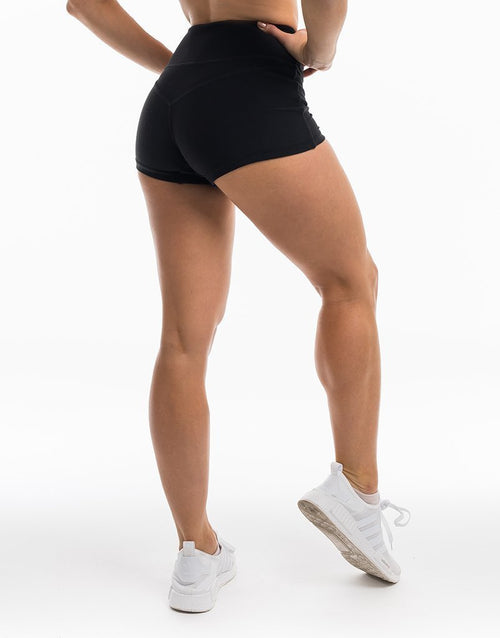 Ex & Ohs Shorts - Black - Be Activewear