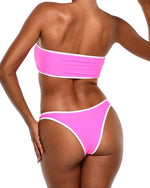 Neon Bikini Bottoms -Pink - Be Activewear