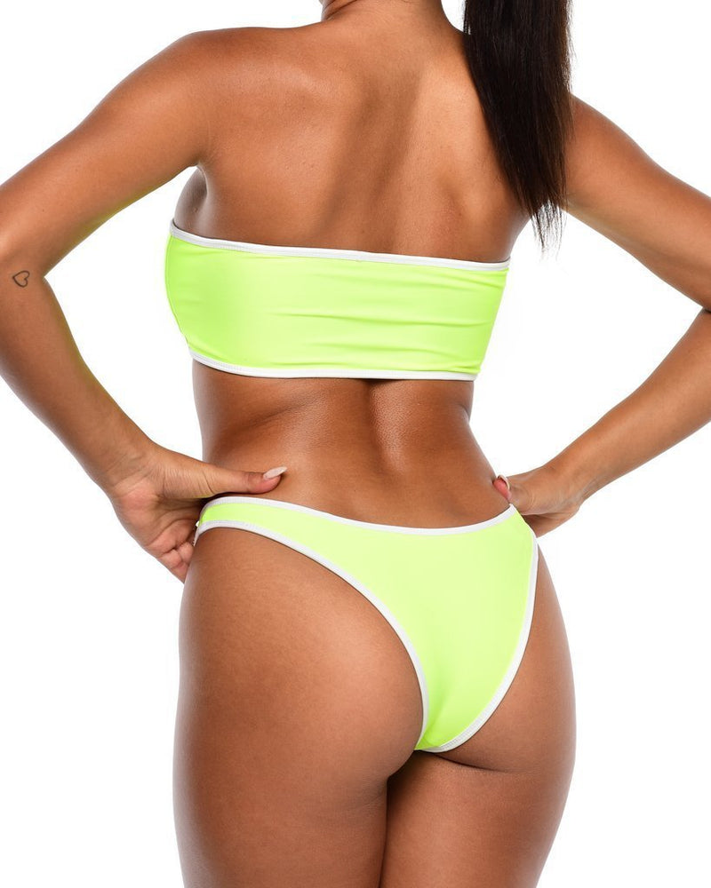 Neon Bikini Bottoms -Yellow - Be Activewear