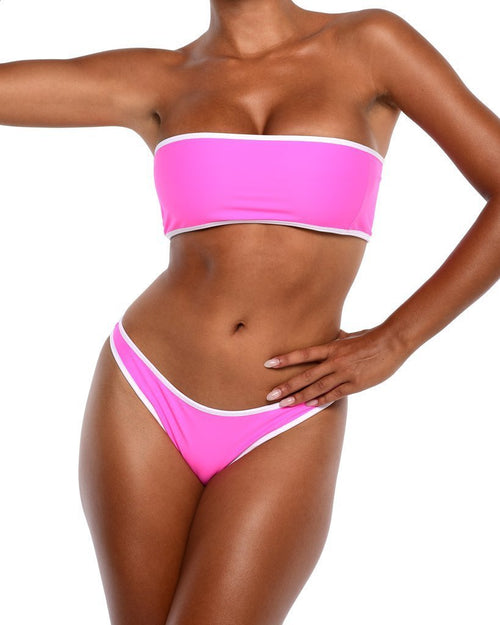 Neon Bikini Top -Pink - Be Activewear