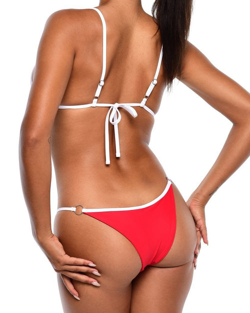 VENUS Bikini Bottom -Red - Be Activewear