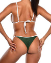 VENUS Bikini Bottoms -Dark Green - Be Activewear