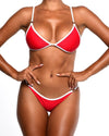 VENUS Bikini Top -Red - Be Activewear