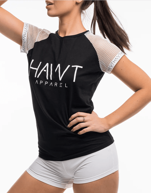 Signature Hawt Apparel Tee -Black - Be Activewear