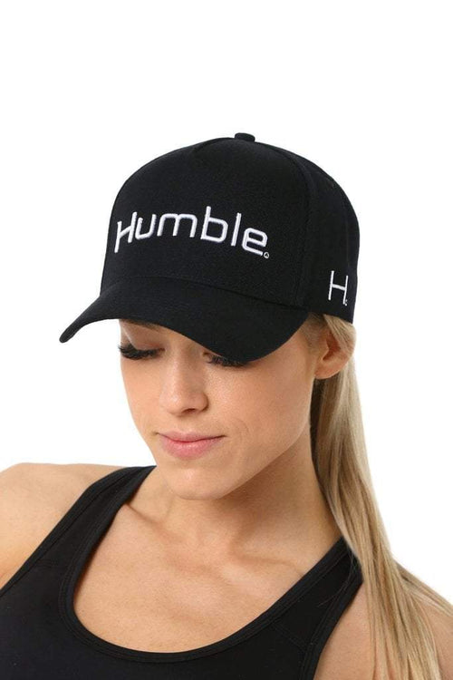 Humble A-Frame - White on Black - Be Activewear