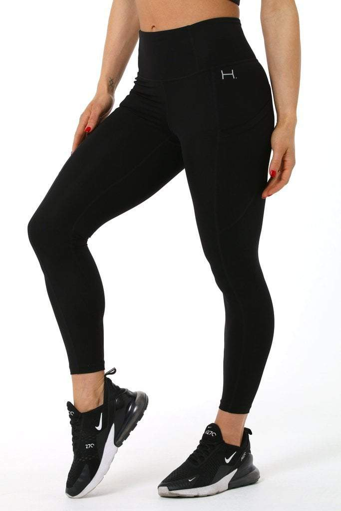 Capsule Leggings - Black - Be Activewear
