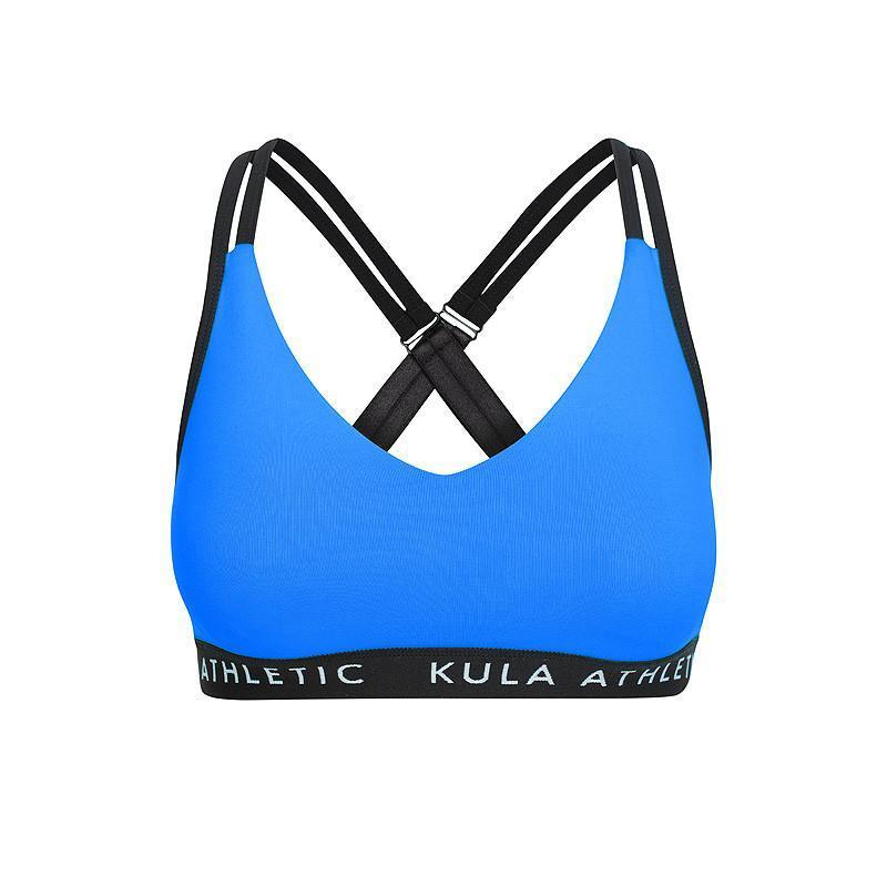 Coco & Milly Bra - Blue - Be Activewear