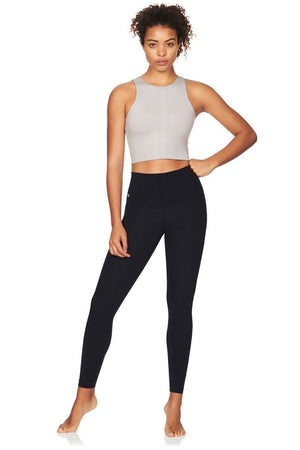 Kula Athletic Crop Tops Mila Crop Top - Ash