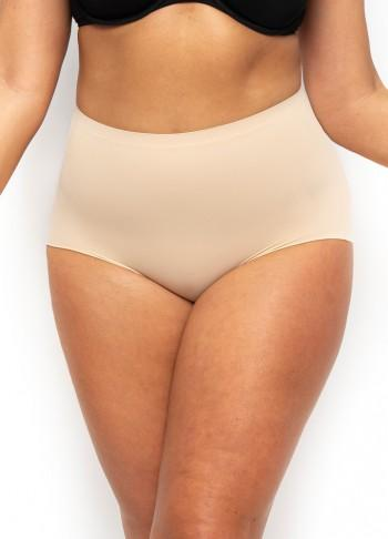 Everyday Micro Fibre Shaping Full Brief - Nude - Be Activewear