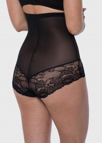Lace Light Control Hi Waist Brief - Be Activewear