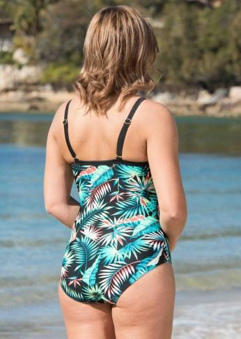 Bali Palm Print Swimsuit - Be Activewear