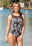 Aloha Palm Print Swimsuit - Be Activewear