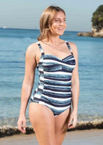 Ocean Stripes Swimsuit - Be Activewear