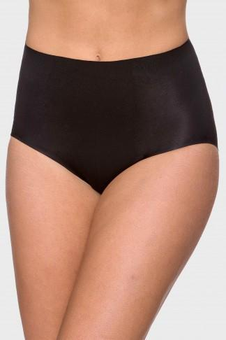 Everyday Micro Fibre Shaping Full Brief - Black - Be Activewear