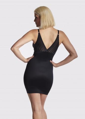 Plunging Shaping Slip - Black - Be Activewear