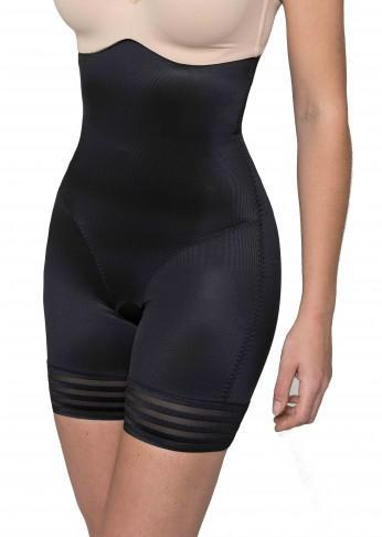 Shaping High Waist Short - Black - Be Activewear
