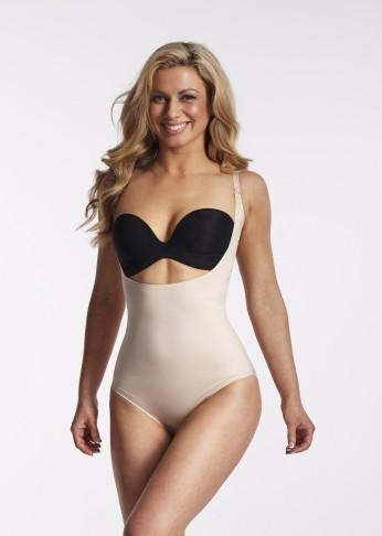 Underbust Smooth Shaping Bodysuit - Nude - Be Activewear