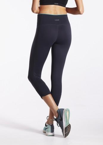 lasculpte Track Pants Contrast Trim Shaping Crop Tight