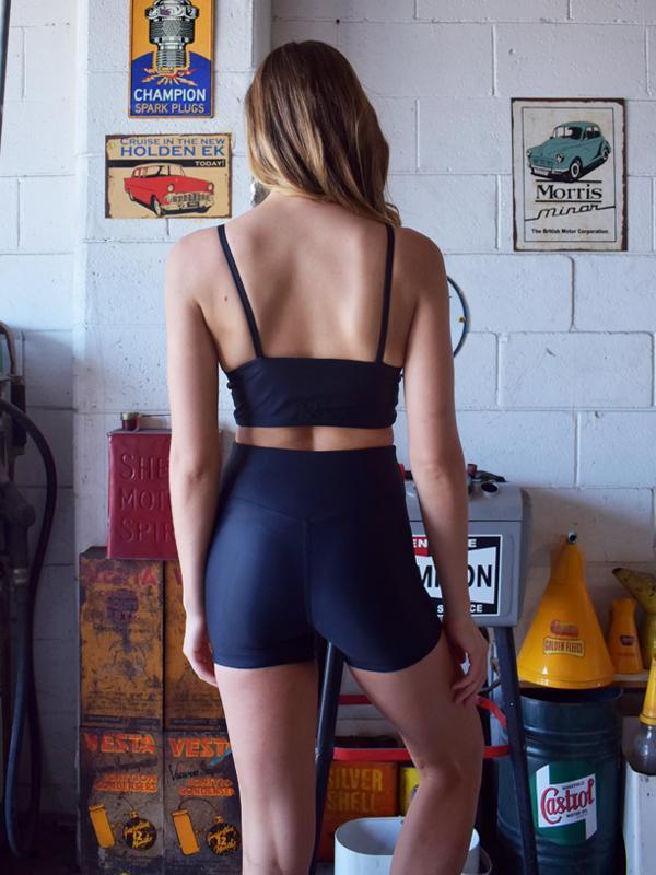 Midnight Malo Crop - Be Activewear
