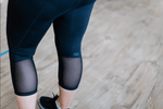 3/4 PREGNANCY MATERNITY TIGHTS - BLACK - Be Activewear