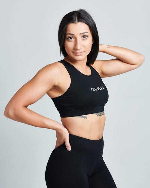 Activate Crop - Black - Be Activewear