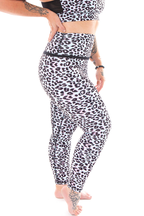 MKM AVA LEOPARD PRINT ANKLE LENGTH - Be Activewear