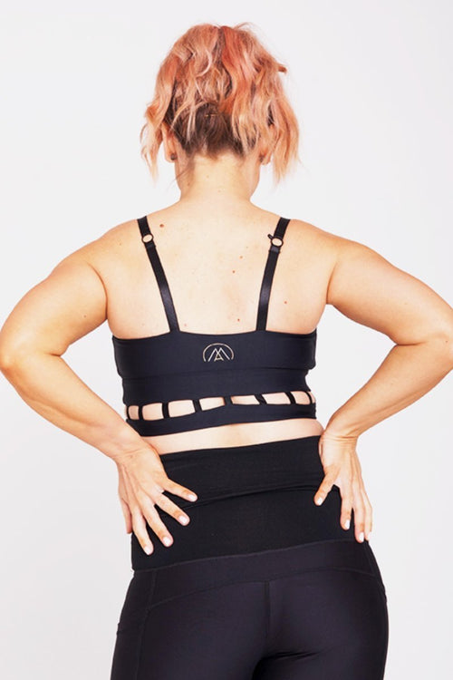 'Cut It Out' Nursing Crop - Be Activewear