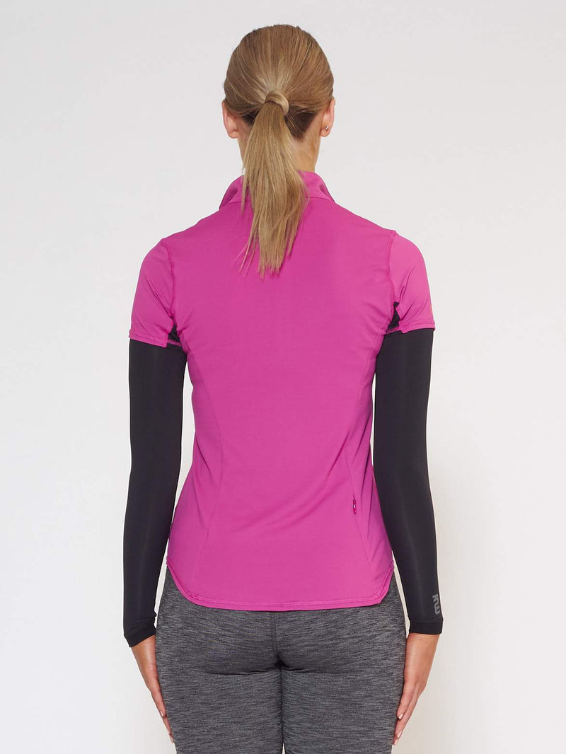 FLARE MUV Tube Sleeve With Mesh - Black - Be Activewear
