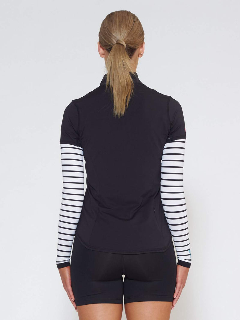 FLARE MUV Tube Sleeve With Mesh - Stripe - Be Activewear