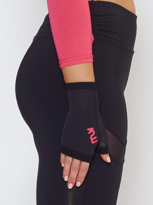 OZONE GLUV With Mesh - Black - Be Activewear
