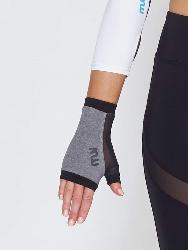 MUV Sportswear accessories OZONE GLUV With Mesh - Grey