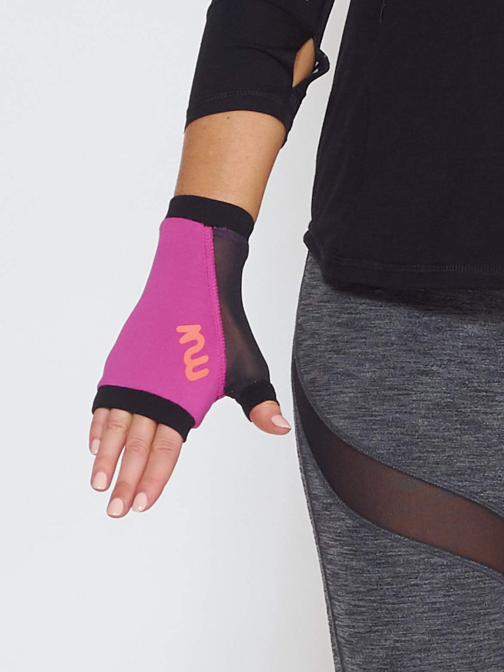 MUV Sportswear accessories OZONE GLUV With Mesh - Purple