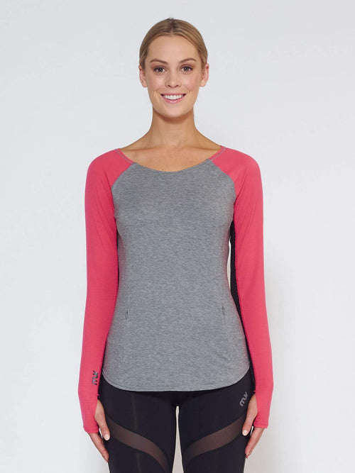 MUV Sportswear Long Sleeve Top DRIFT Long-Sleeve Top