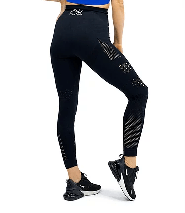 SEAMLESS AIR LEGGING -BLACK - Be Activewear