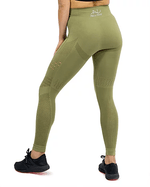 SEAMLESS AIR LEGGING -GREEN - Be Activewear