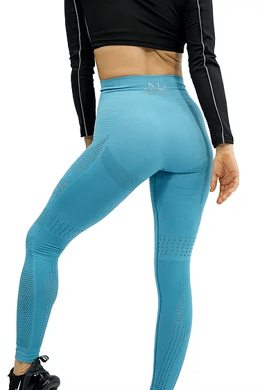 SEAMLESS AIR LEGGING -SKY BLUE - Be Activewear