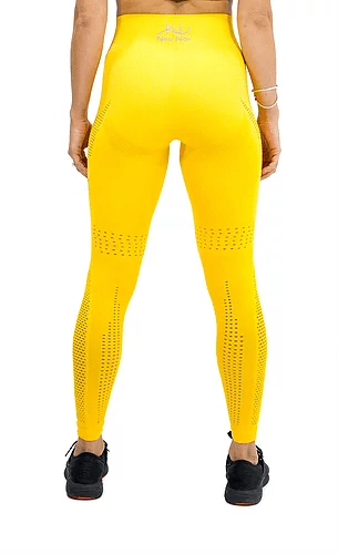 SEAMLESS AIR LEGGING -YELLOW - Be Activewear
